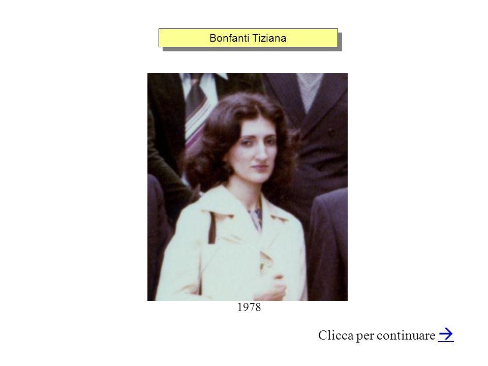 Bonfanti Tiziana Clicca per continuare 1978