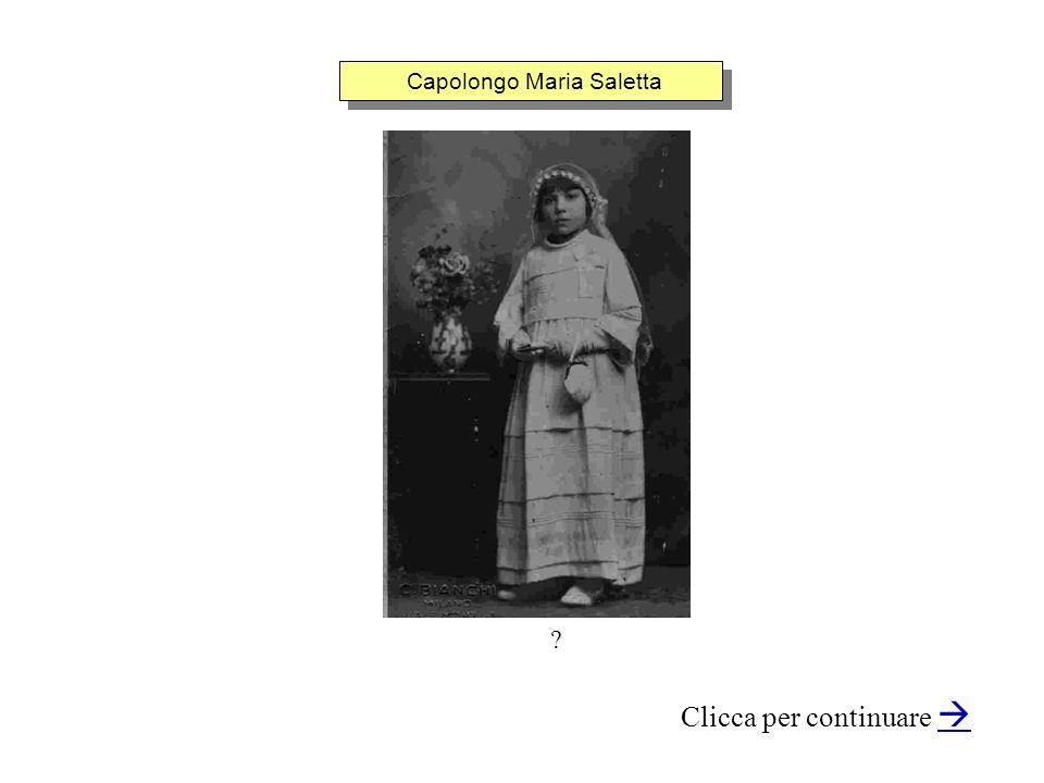 Capolongo Maria Saletta Clicca per continuare ?