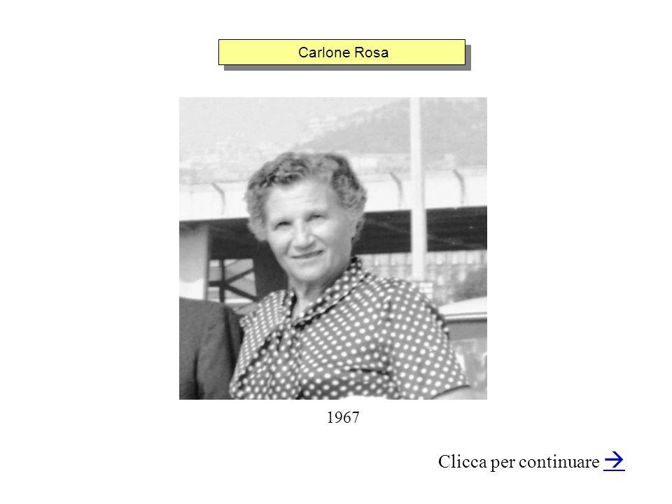 Carlone Rosa Clicca per continuare 1967