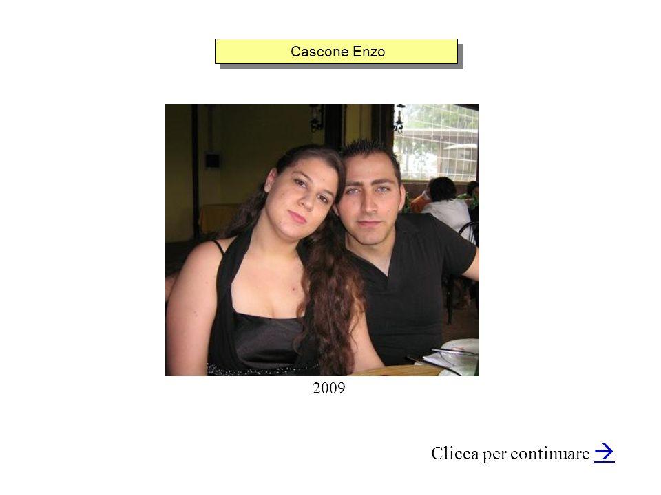 Cascone Enzo Clicca per continuare 2009