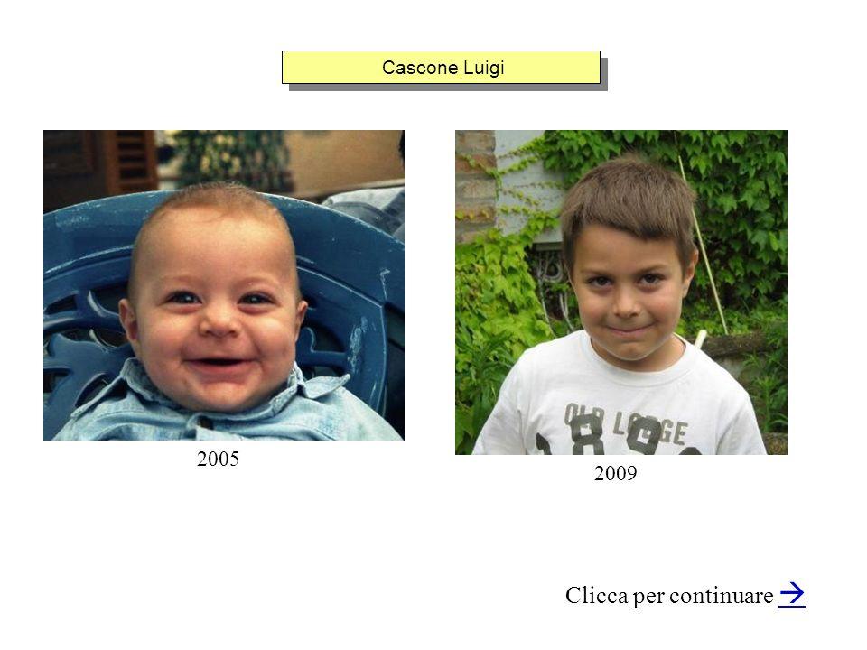 Cascone Luigi Clicca per continuare 2005 2009