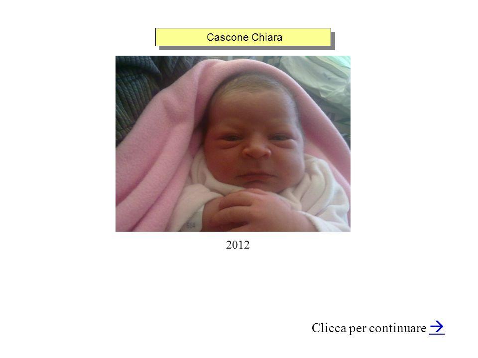 Cascone Chiara Clicca per continuare 2012