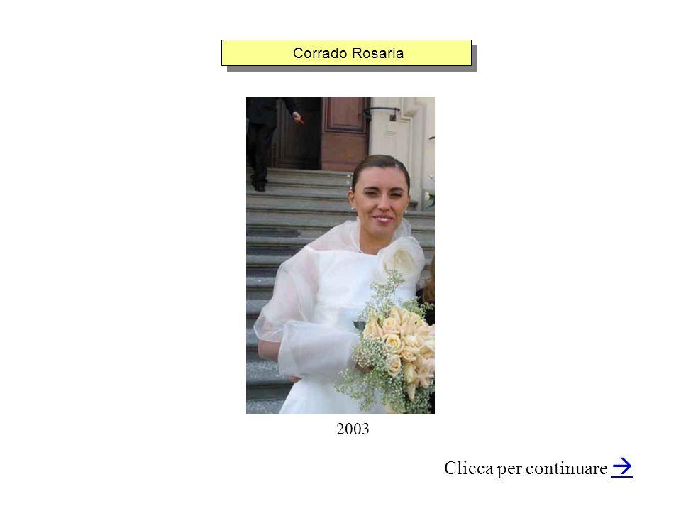 Corrado Rosaria Clicca per continuare 2003