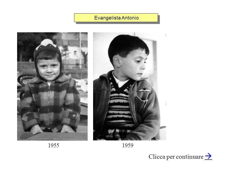 Evangelista Antonio Clicca per continuare 19551959