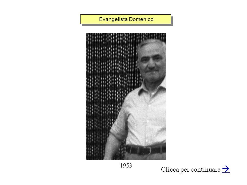 Evangelista Domenico Clicca per continuare 1953