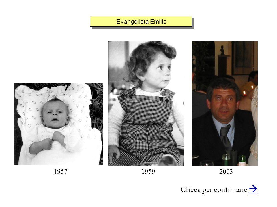 Evangelista Emilio Clicca per continuare 200319591957