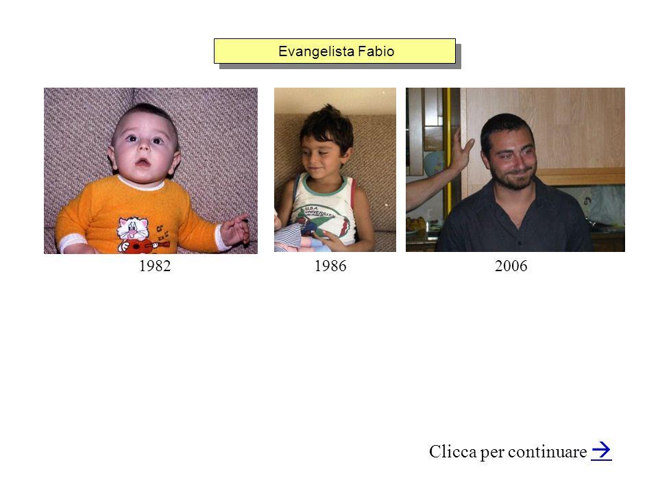 Evangelista Fabio Clicca per continuare 200619821986