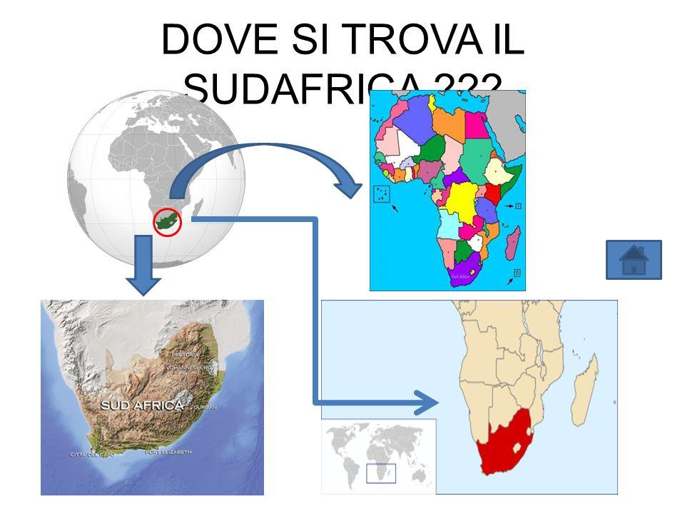 DOVE SI TROVA IL SUDAFRICA ???