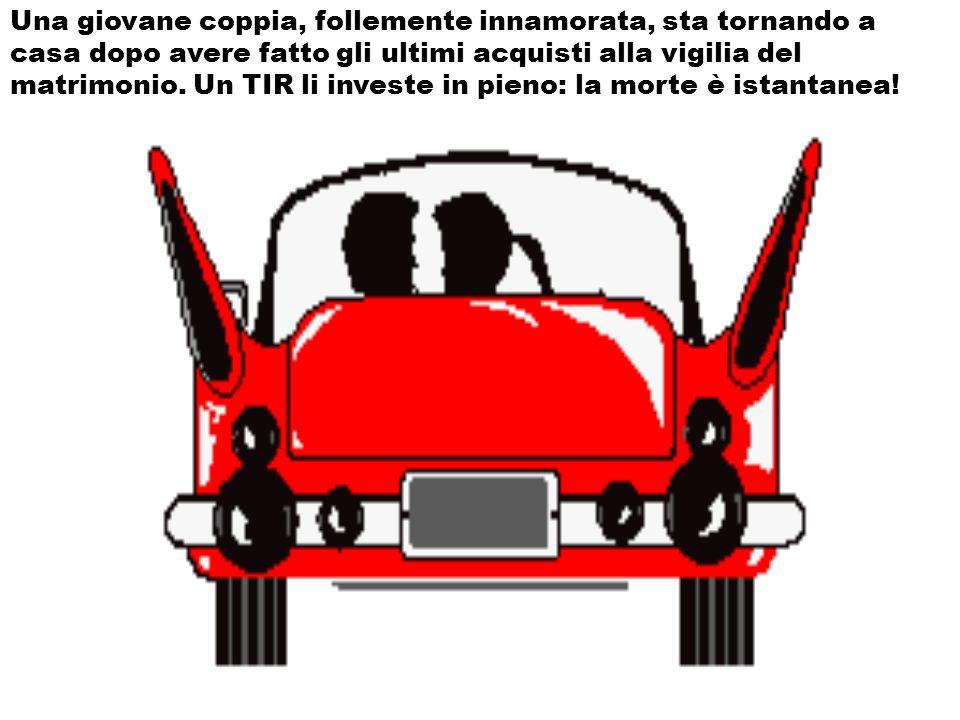 Una giovane coppia, follemente innamorata, sta tornando a casa dopo avere fatto gli ultimi acquisti alla vigilia del matrimonio.