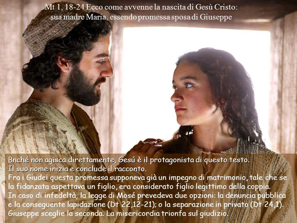 Bnché non agisca direttamente, Gesú è il protagonista di questo testo.