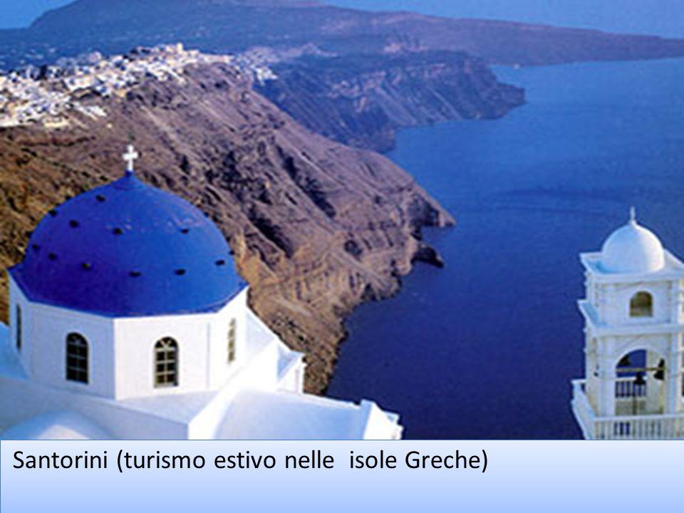 Santorini (turismo estivo nelle isole Greche)