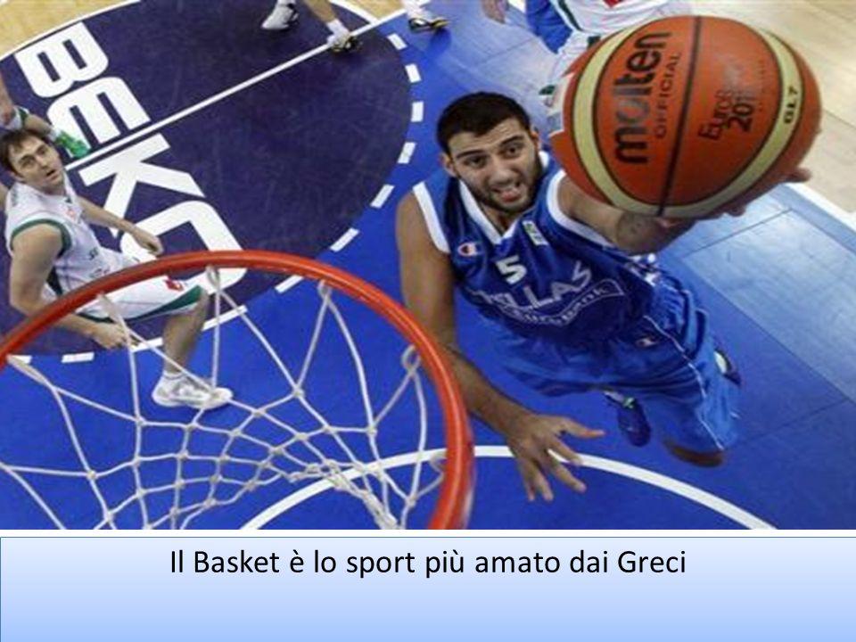 Il Basket è lo sport più amato dai Greci