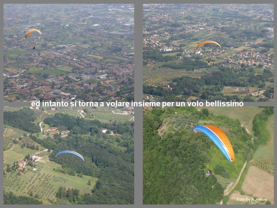 ed intanto si torna a volare insieme per un volo bellissimo Foto By A. Antoni