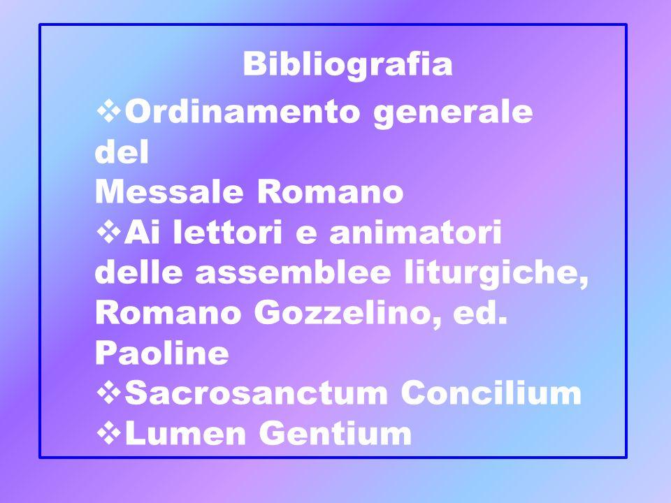 Ordinamento generale del Messale Romano Ai lettori e animatori delle assemblee liturgiche, Romano Gozzelino, ed. Paoline Sacrosanctum Concilium Lumen