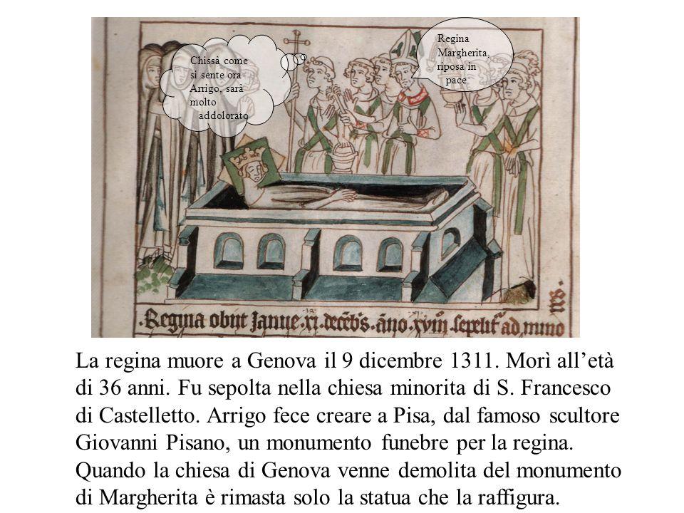 Il funerale a Verona del fratello di Arrigo, Walram, ucciso il 26 luglio a Brescia da una freccia al collo. Io Baldovino con il dolore nel cuore prego