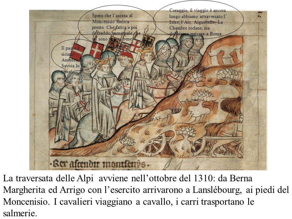 Il matrimonio tra Giovanni, figlio di Arrigo e Margherita, ed Elisabetta, erede di Boemia, nel 1310 fu celebrato dallarcivescovo di Magonza. Io sono E