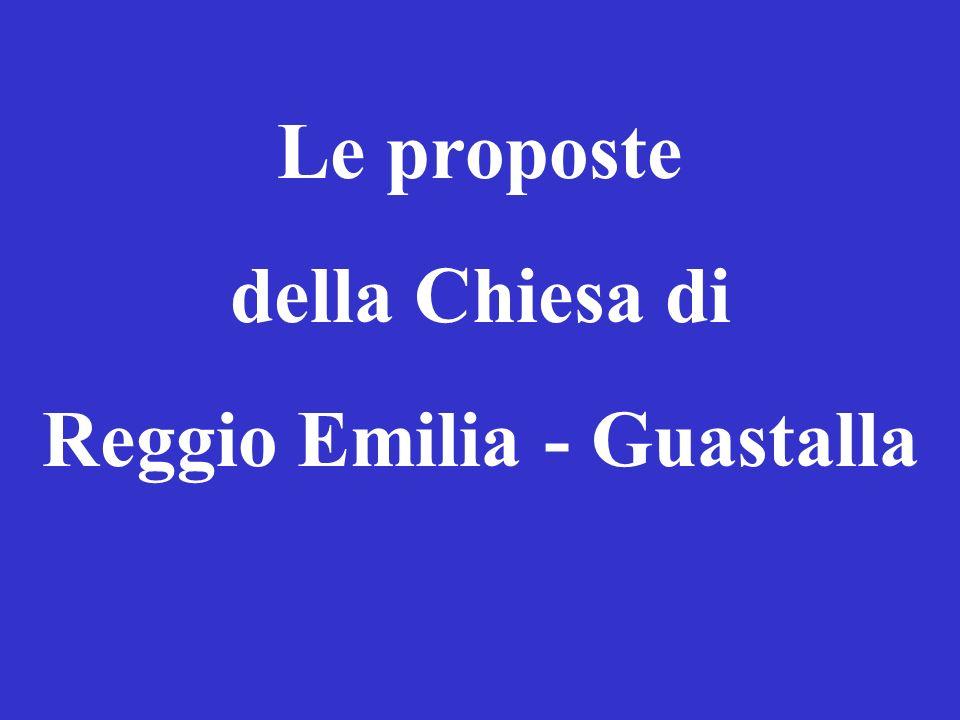 Le proposte della Chiesa di Reggio Emilia - Guastalla