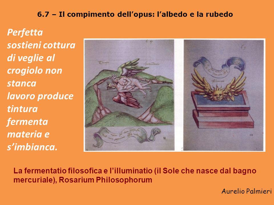 Aurelio Palmieri 6.5 – Lopera al nero: la nigredo vel putrefactio La coniunctio e la putrefactio, Rosarium Philosophorum De corpi mi forma labbraccio