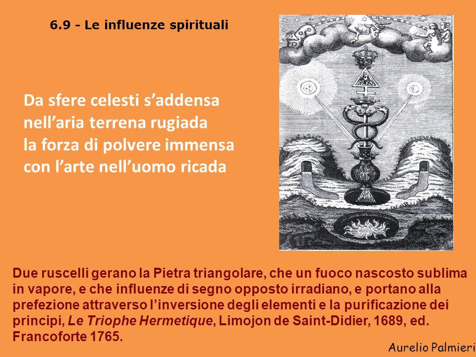 Aurelio Palmieri 6.8 – Interpretazioni dellalchimia La multiplicatio e la revivificatio, o ritorno dellanima gioiosa, Rosarium Philosophorum Lartista