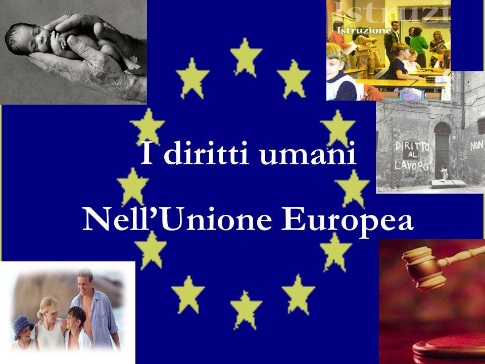 I diritti umani NellUnione Europea