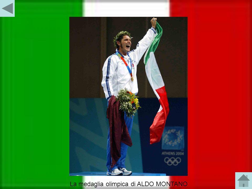 Il campione olimpionico: ALDO MONTANO Aldo Montano ha vinto la medaglia d oro nel torneo di sciabola individuale ai XXVIII Giochi Olimpici di Atene 2004.