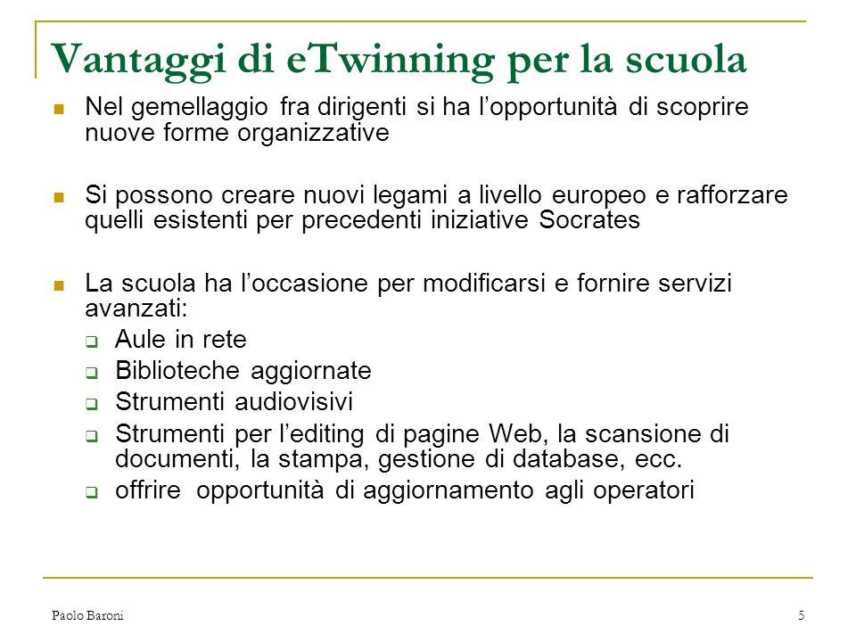 Paolo Baroni6 Ostacoli Scuola: armoniosa ma affaticata.