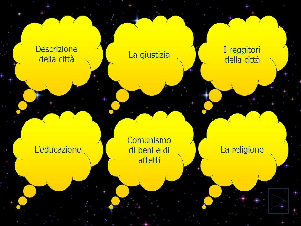 La societàLa religione LeconomiaLa famigliaLe istituzioni La comunione dei beni