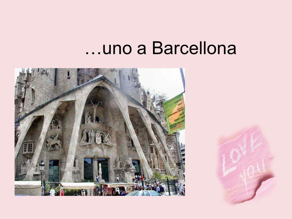 …uno a Barcellona
