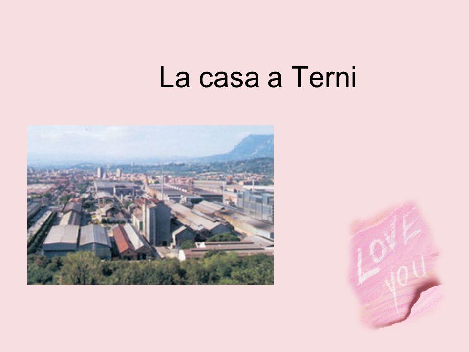 La casa a Terni