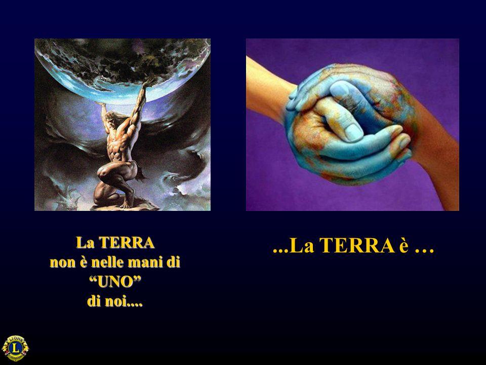 La TERRA non è nelle mani di UNO di noi.......La TERRA è …
