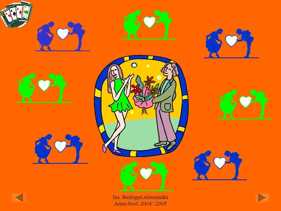 Ins. Bedognè Alessandra Anno Scol. 2004 / 2005 Il nastrino magico Mentre Truffaldino distrae la terribile cuoca, il principe si impossessa delle tre m