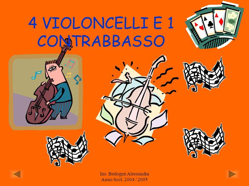Ins. Bedognè Alessandra Anno Scol. 2004 / 2005 LA FISARMONICA