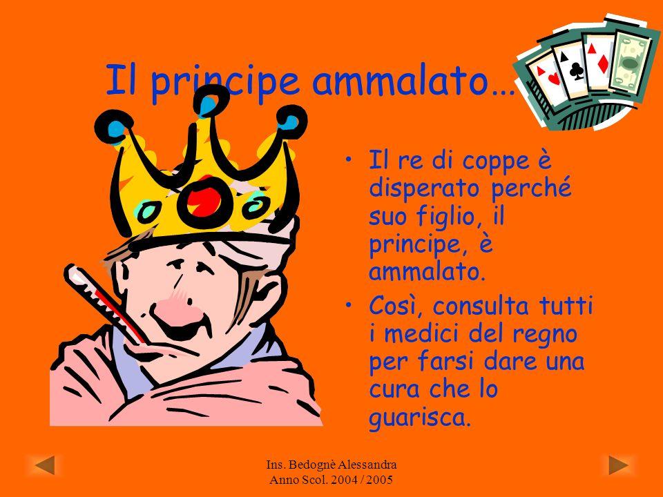 Ins. Bedognè Alessandra Anno Scol. 2004 / 2005
