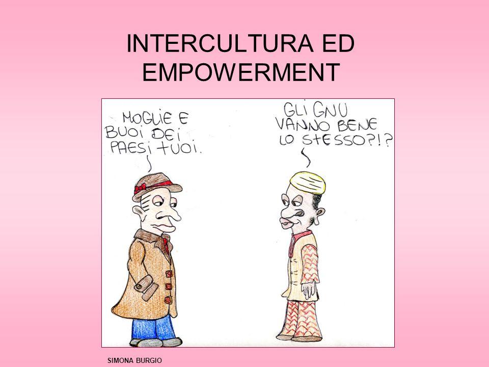 INTERCULTURA ED EMPOWERMENT SIMONA BURGIO