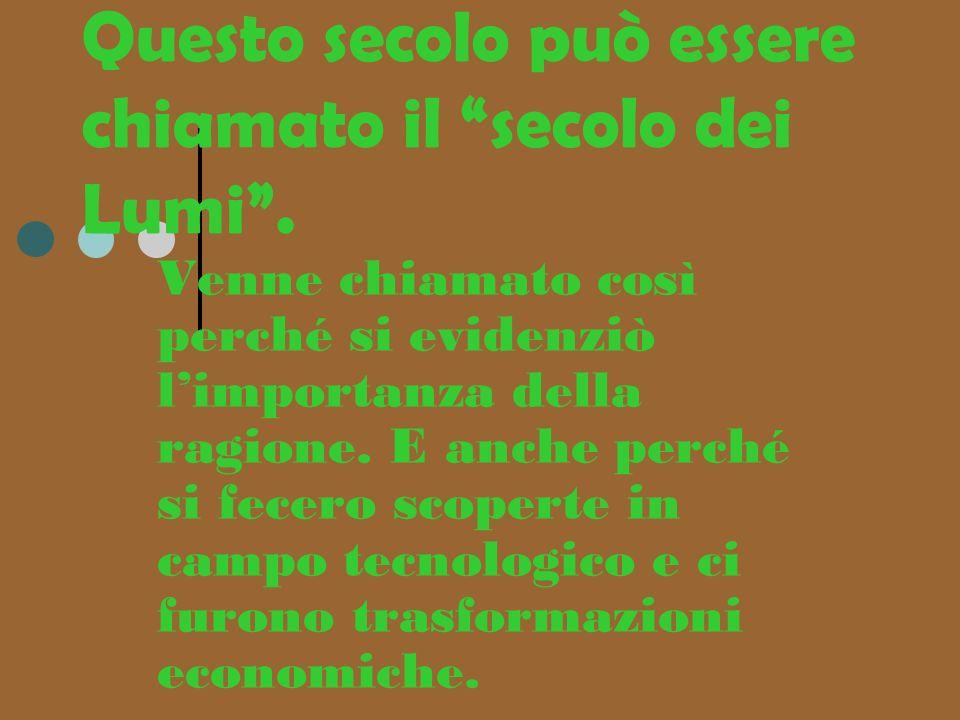 In italia lilluminismo si sviluppò soprattutto in : Piemonte Toscana lombardia