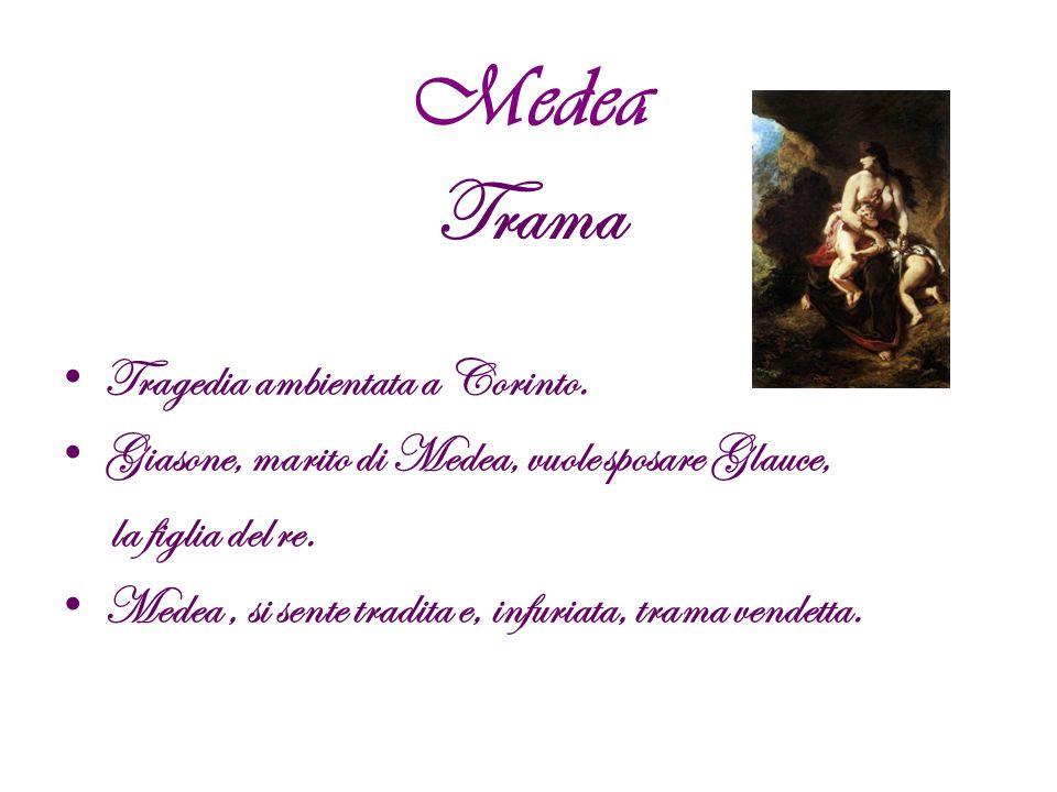Figura di Elena: Rovesciamento della tradizionale figura di Elena: la ragazza, che era sempre stata vista come la causa della guerra di Troia, nonché come esempio di moglie infedele, viene adesso raffigurata come una sposa devota al marito e perdutamente innamorata.