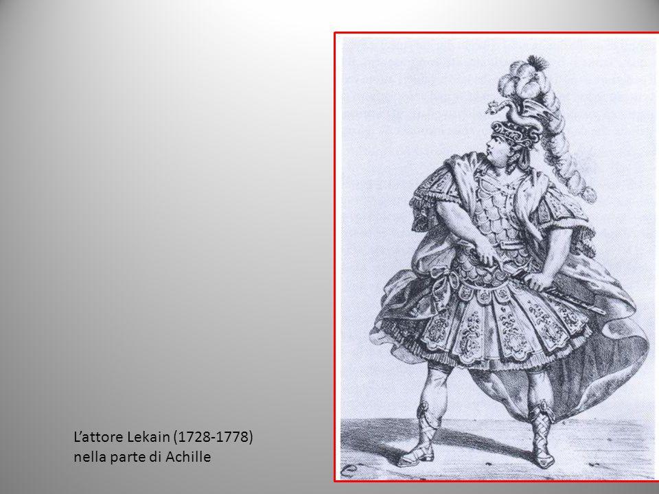 Lattore Lekain (1728-1778) nella parte di Achille