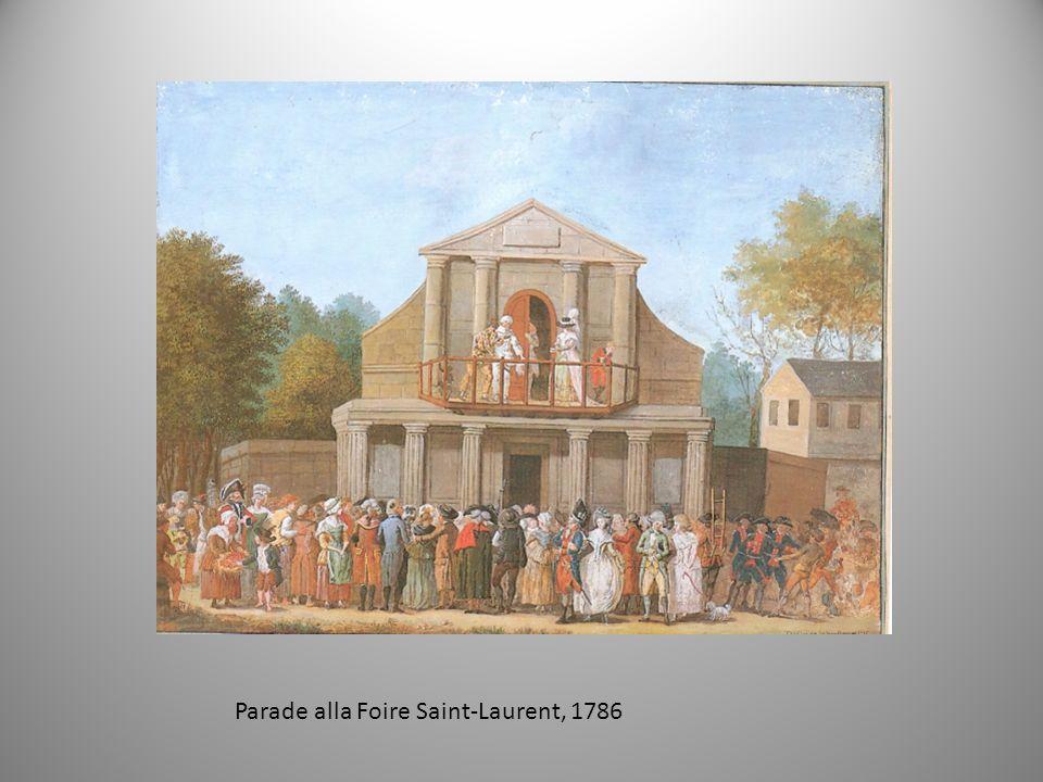 Parade alla Foire Saint-Laurent, 1786
