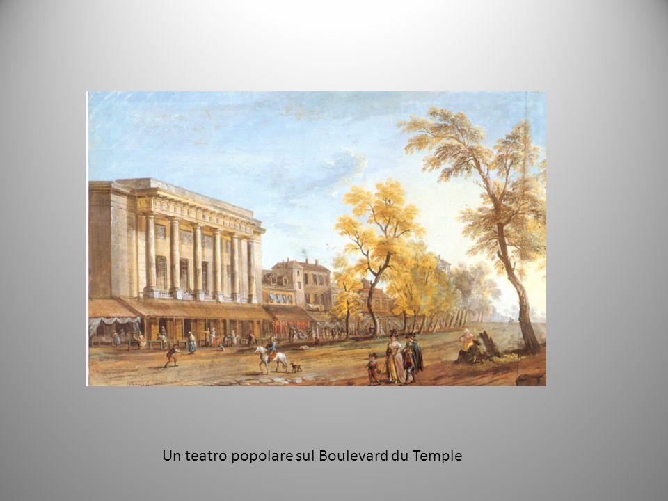 Un teatro popolare sul Boulevard du Temple