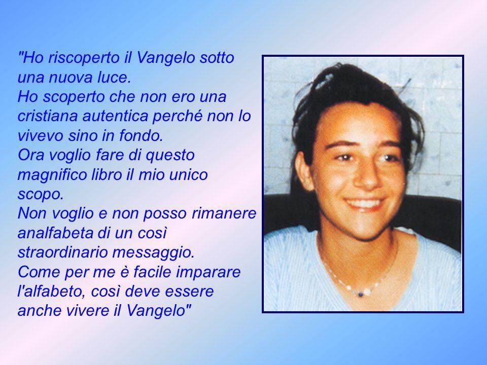 LA MALATTIA DI NOSTRA FIGLIA CHIARA Maria Teresa e Ruggero Badano Viviamo in un piccolo paese della Liguria.