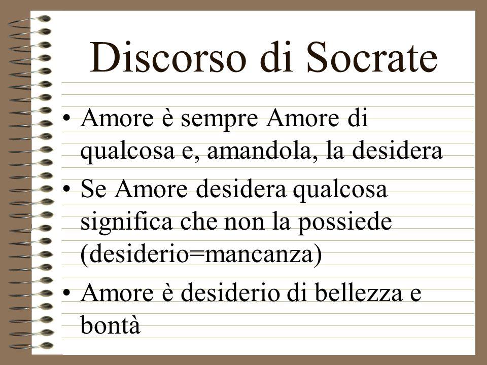 Discorso di Agatone Amore presiede alla generazione Amore genera tutte le virtù dellanima Amore genera anche negli altri le sue virtù