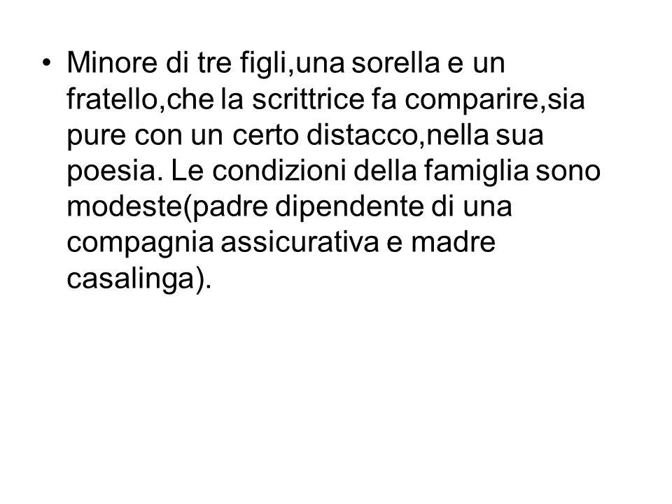 Alda frequenta le scuole professionali allistituto Laura Solera Montegazza e chiede di essere ammessa al liceo Manzoni ma,sembra incredibile, non supera la prova di italiano.
