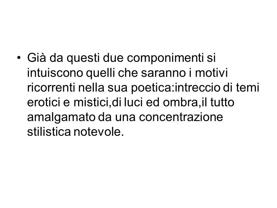Nell81 muore Ettore Carniti.Rimasta sola inizia unamicizia a distanza col poeta tarantino Michele Pierri.