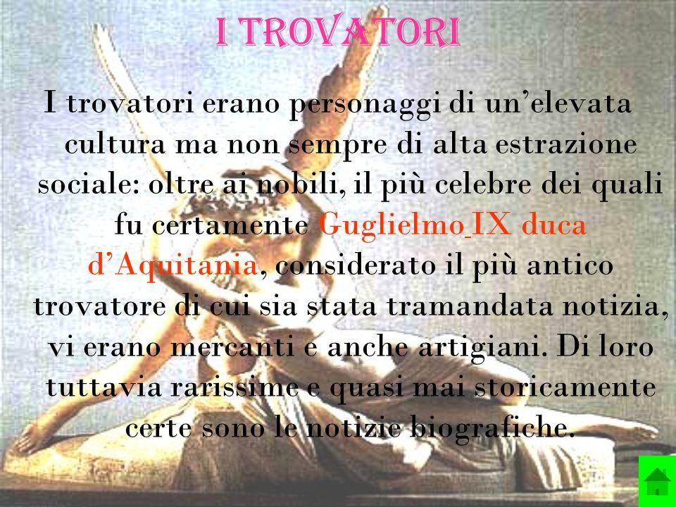 Letteratura francese e provenzale in Italia Solo con la fioritura dei comuni si svilupperà una letteratura autonoma in Italia.