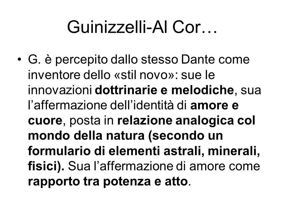 Guinizzelli-Al Cor… G.