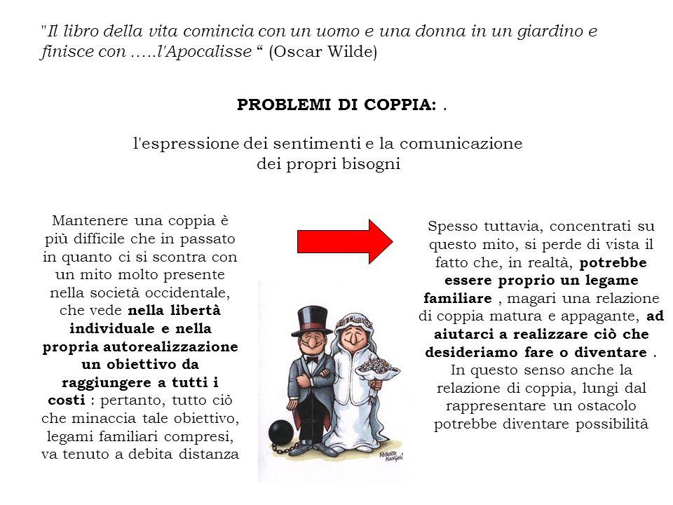 PROBLEMI DI COPPIA:.