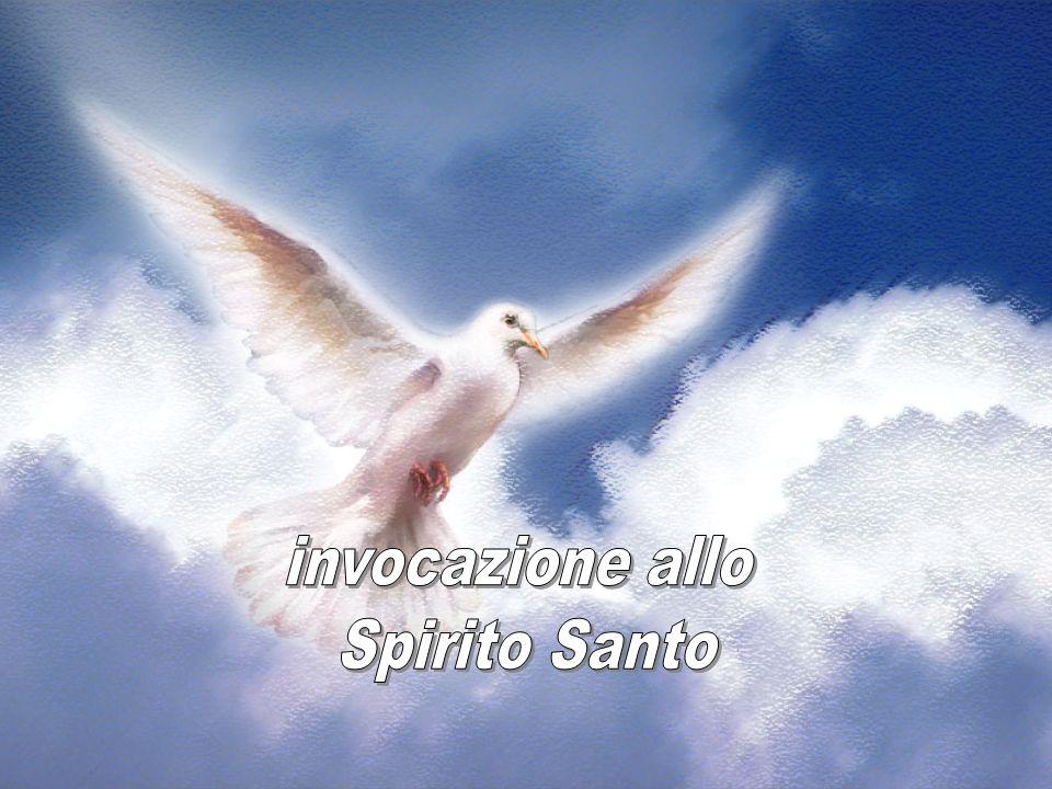 Spirito di Dio, ecco, io apro le mie mani sotto la croce.