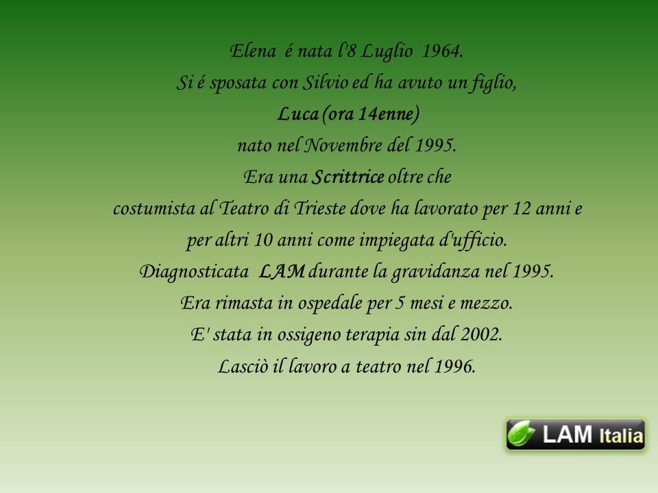 Elena é nata l 8 Luglio 1964.