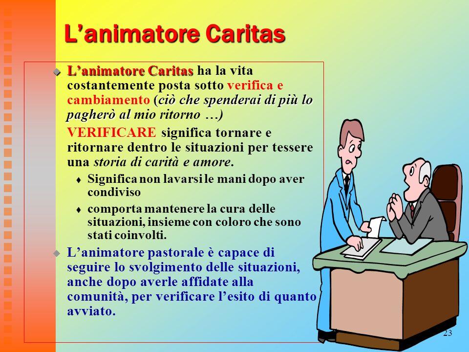 23 Lanimatore Caritas Lanimatore Caritas (ciò che spenderai di più lo pagherò al Lanimatore Caritas ha la vita costantemente posta sotto verifica e ca