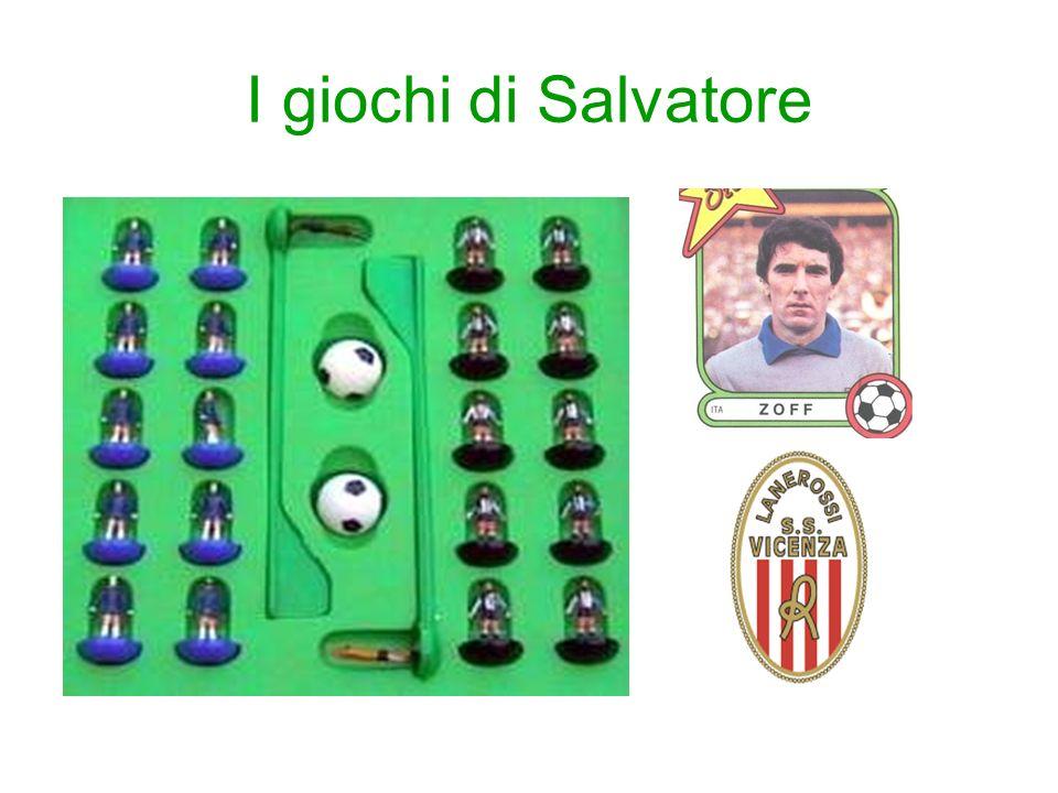 I giochi di Salvatore